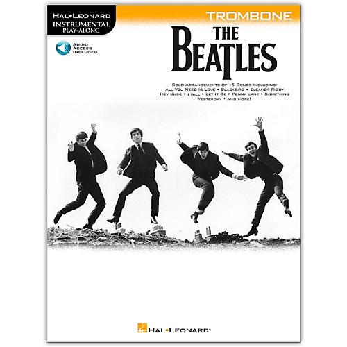 Hal Leonard The Beatles - Instrumental Play-Along Series Trombone Book/Audio Online thumbnail