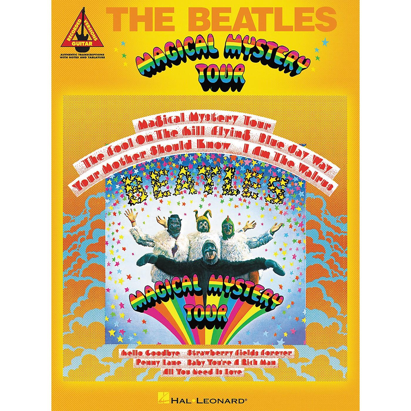 Hal Leonard The Beatles - Magical Mystery Tour Guitar Tab Songbook thumbnail