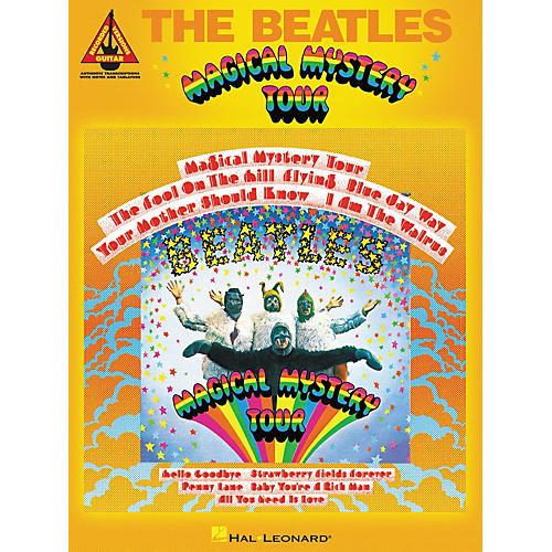Hal Leonard The Beatles - Magical Mystery Tour Guitar Tab Songbook thumbnail