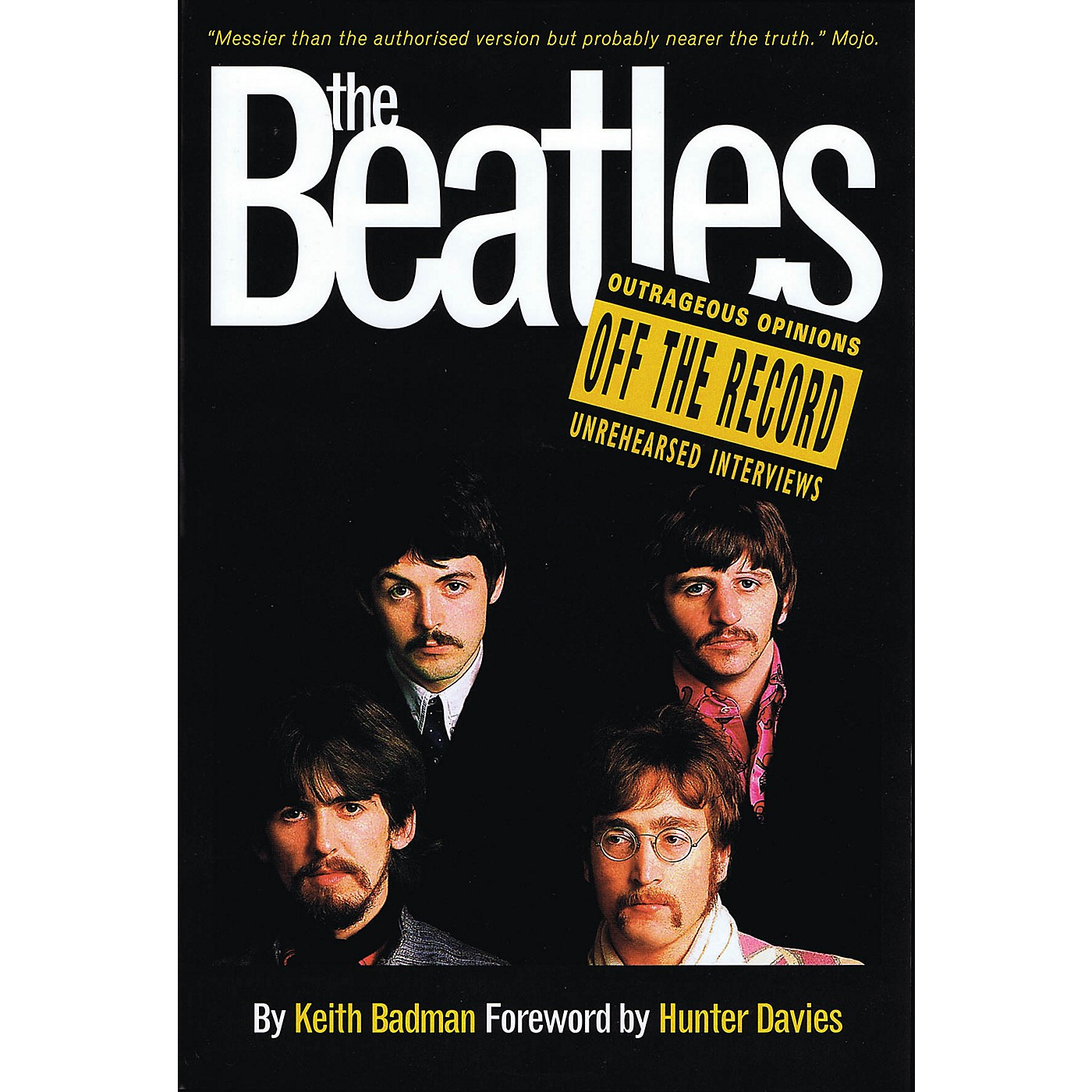 Omnibus The Beatles - Off the Record Omnibus Press Series Softcover thumbnail