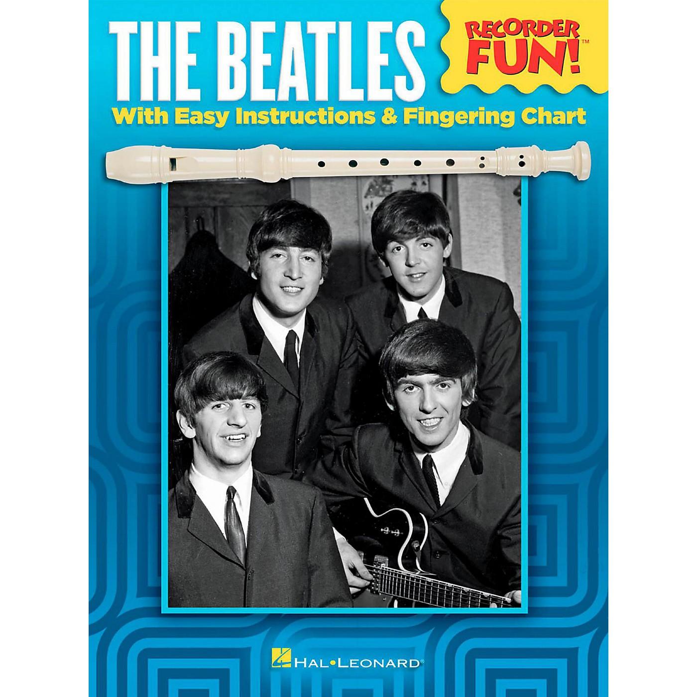 Hal Leonard The Beatles - Recorder Fun! Songbook thumbnail