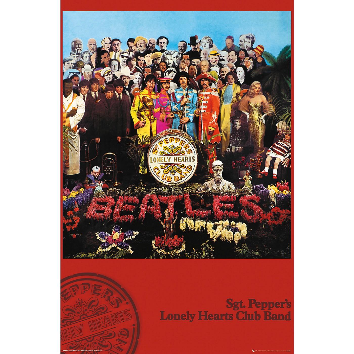 Trends International The Beatles - SGT. Pepper's Poster thumbnail