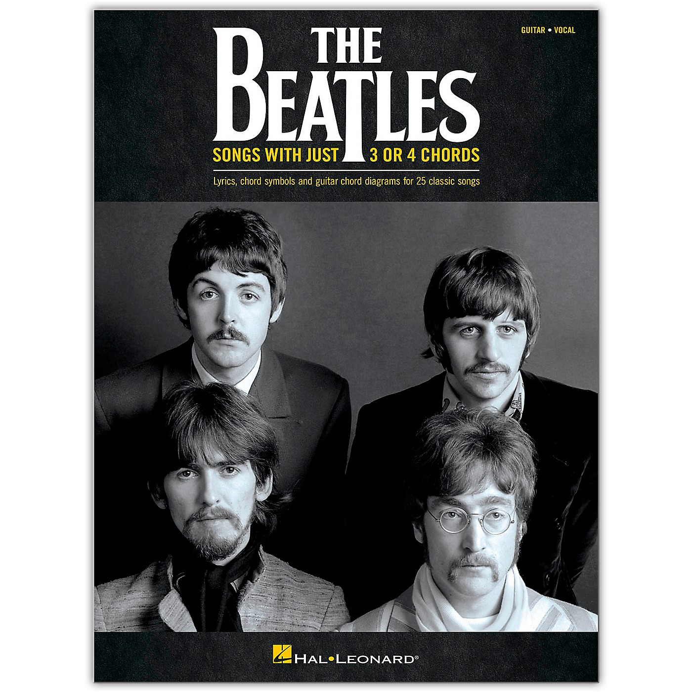 Hal Leonard The Beatles - Songs with Just 3 or 4 Chords Guitar Collection thumbnail