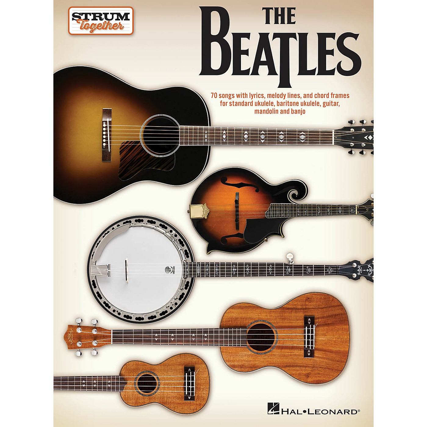 Hal Leonard The Beatles - Strum Together Songbook thumbnail