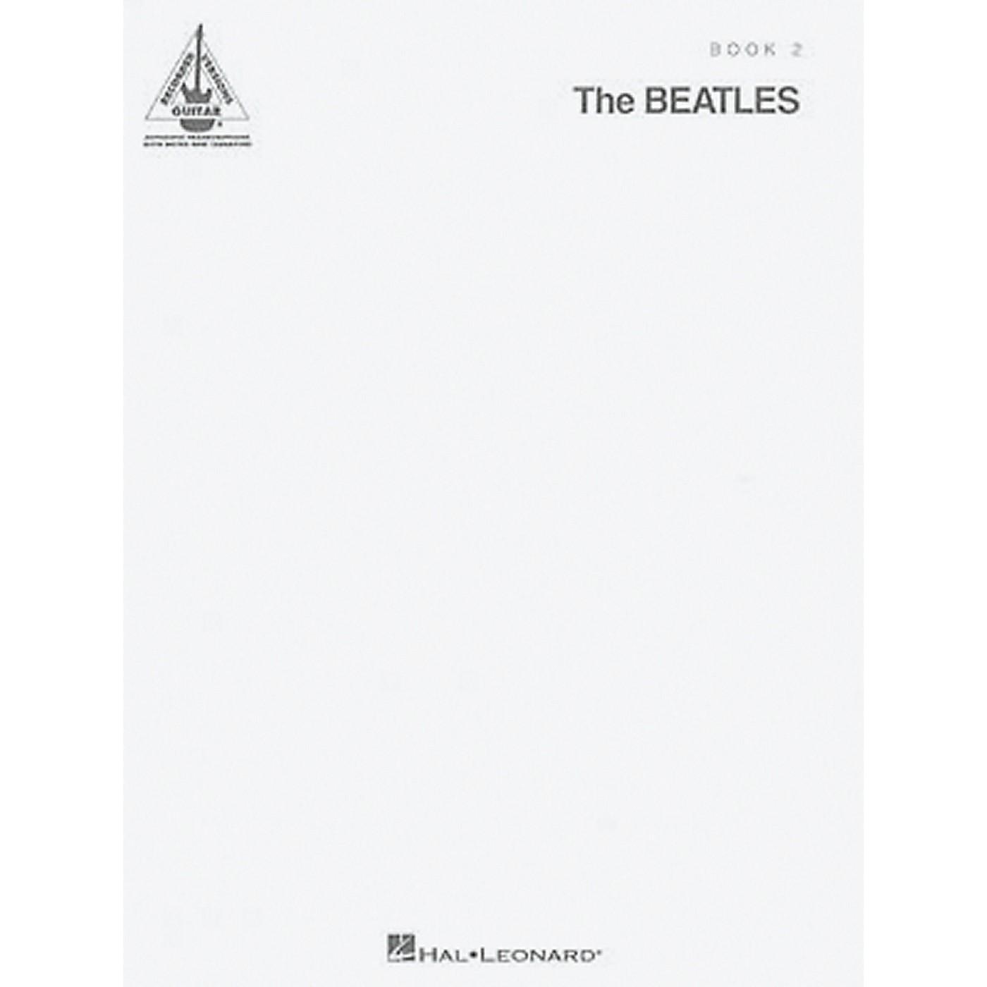 Hal Leonard The Beatles - The White Album Guitar Tab Songbook 2 thumbnail