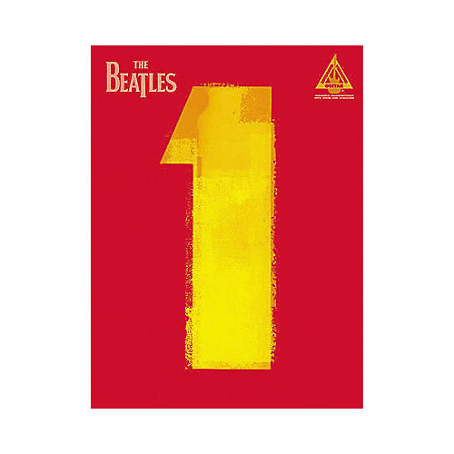 Hal Leonard The Beatles 1 Guitar Tab Book thumbnail