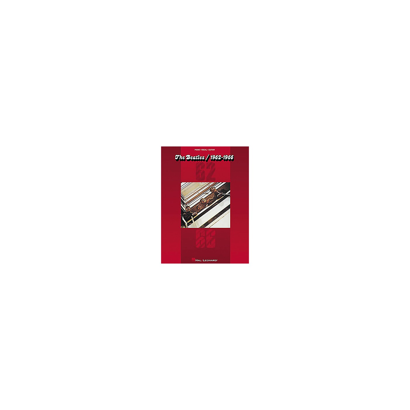 Hal Leonard The Beatles/1962-1966 Piano/Vocal/Guitar Artist Songbook thumbnail