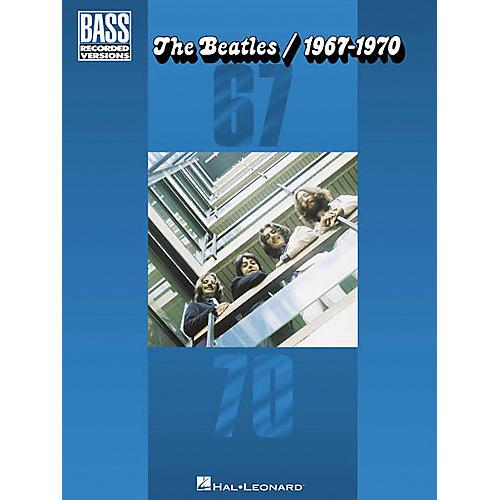 Hal Leonard The Beatles 1967-1970 Bass Guitar Tab Songbook-thumbnail