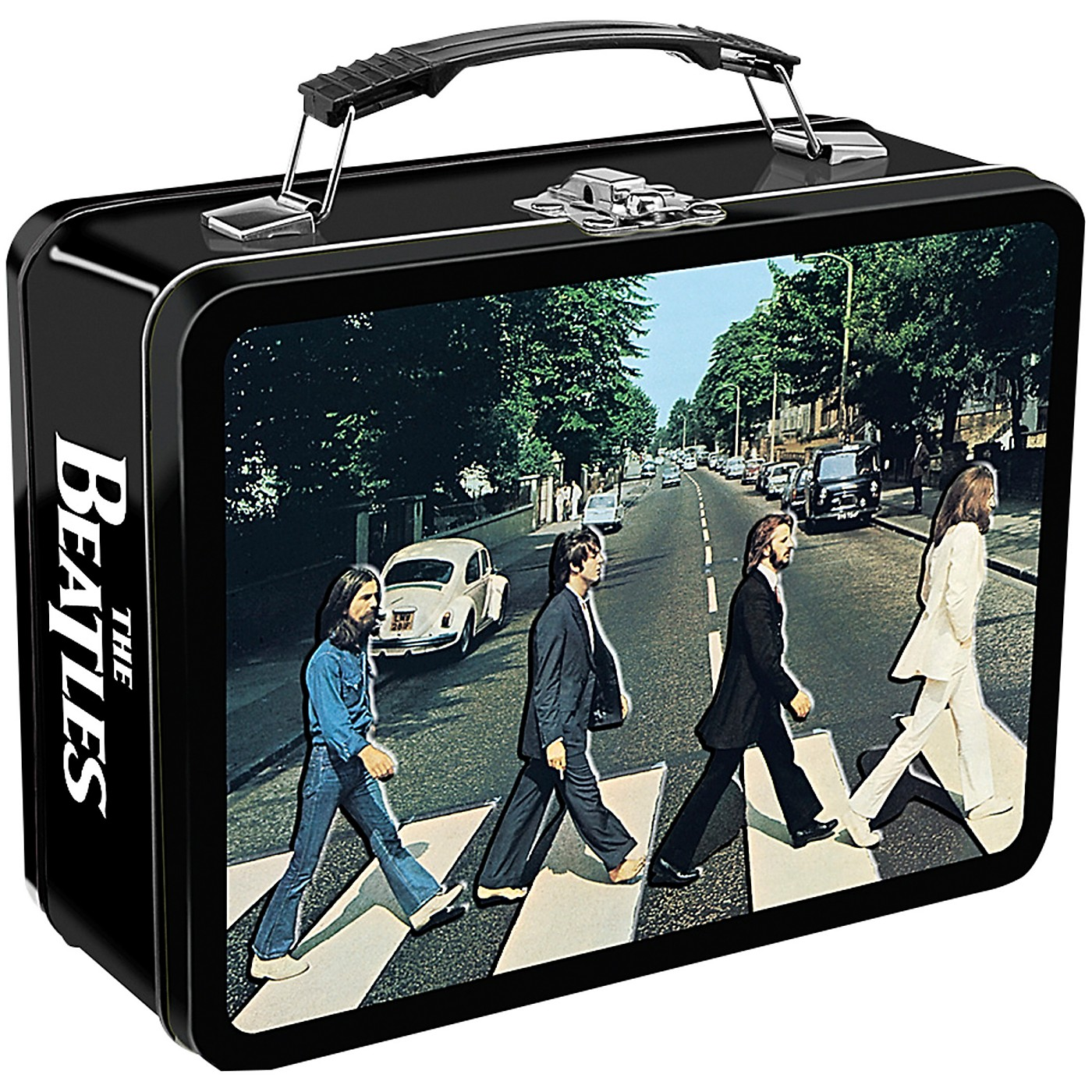 Vandor The Beatles Abbey Road Embossed Large Tin Tote thumbnail