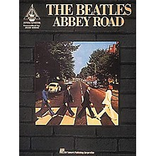 Hal Leonard The Beatles Abbey Road Guitar Tab Book