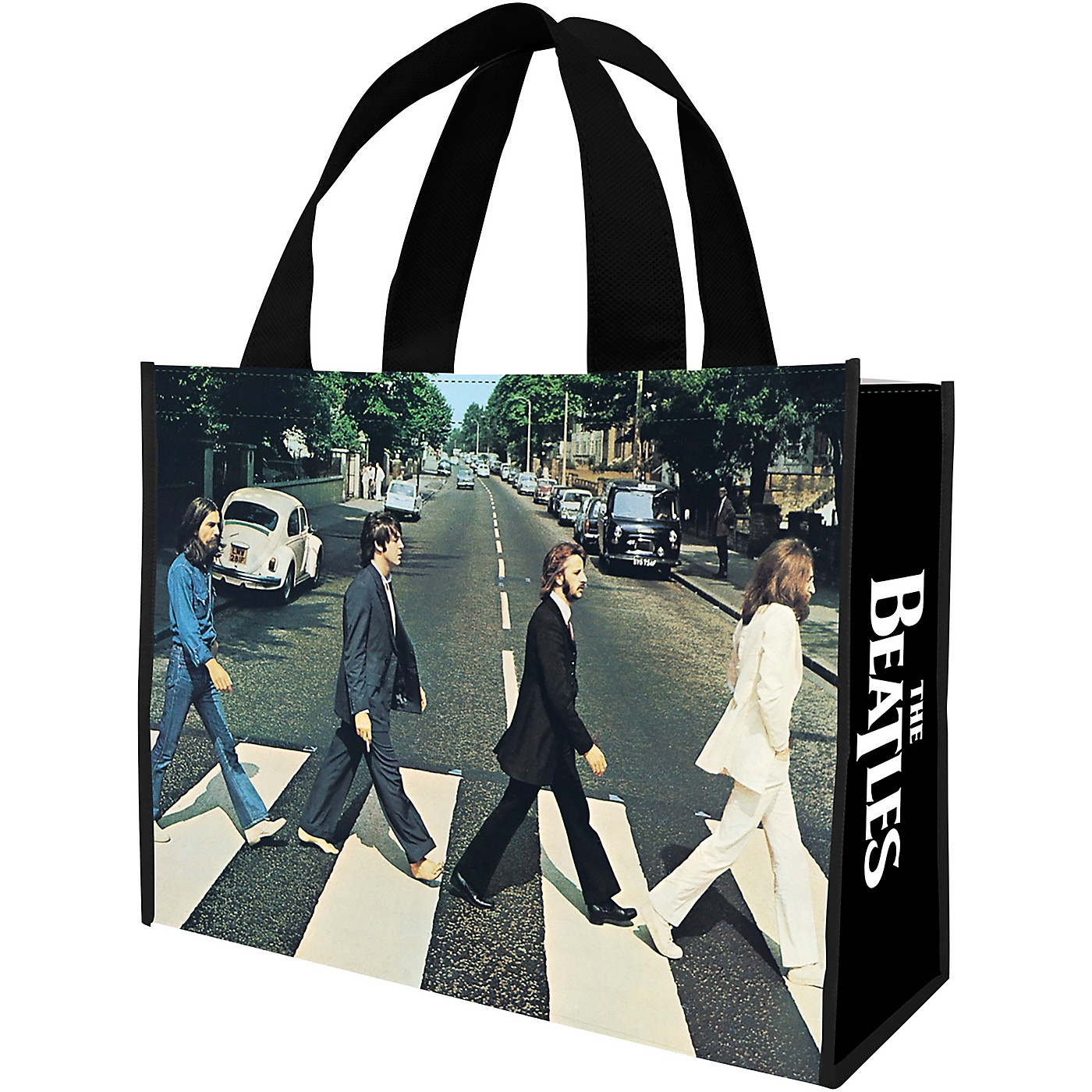 Vandor The Beatles Abbey Road Large Recycled Shopper Tote thumbnail