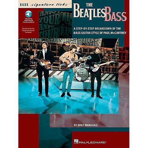 Hal Leonard The Beatles Bass Signature Licks Book with CD-thumbnail