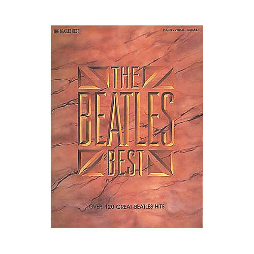 Hal Leonard The Beatles Best Piano, Vocal, Guitar Songbook-thumbnail