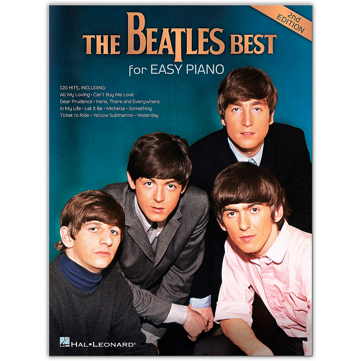 Hal Leonard The Beatles Best for Easy Piano - 2nd Edition thumbnail