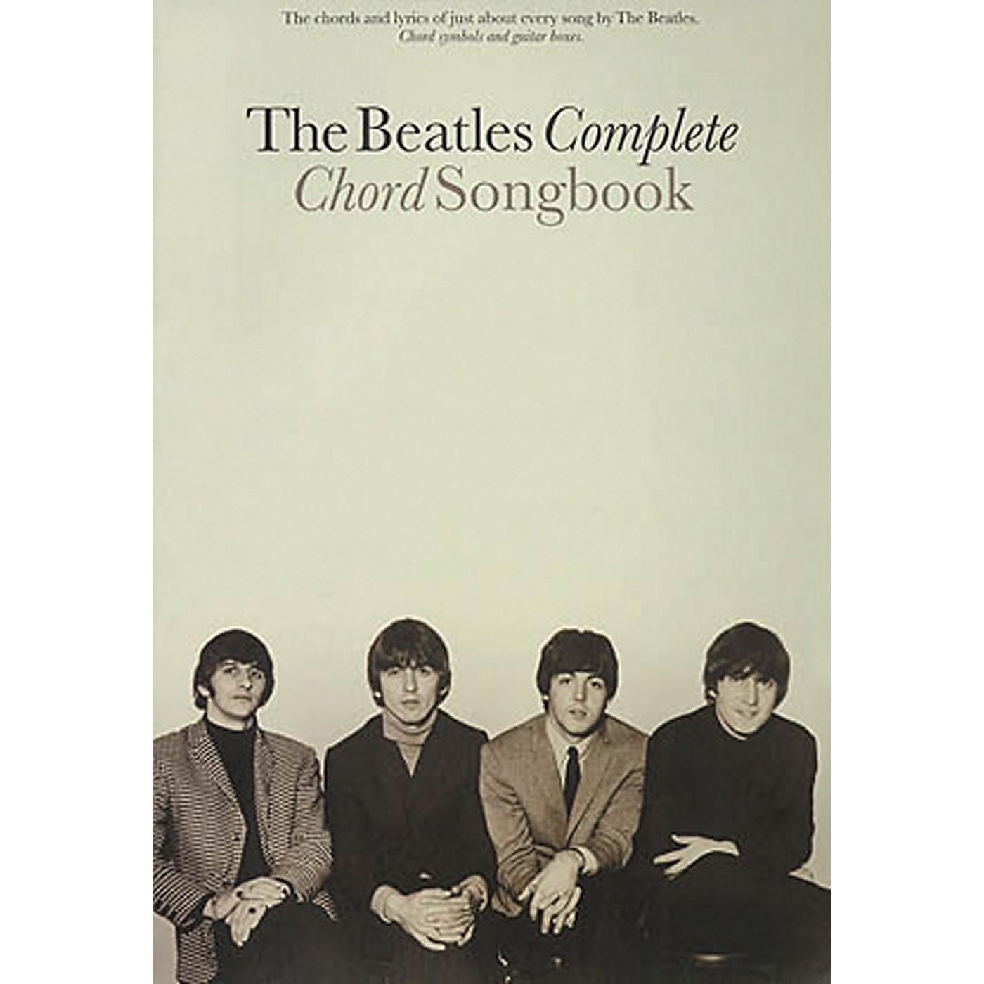 Hal Leonard The Beatles Complete Guitar Chord Songbook thumbnail