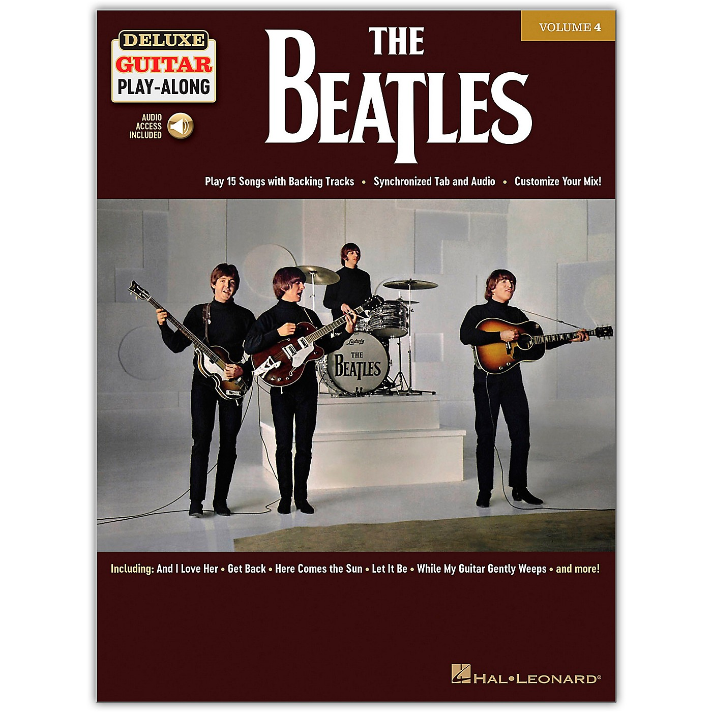 Hal Leonard The Beatles Deluxe Guitar Play-Along Volume 4 Book/Audio Online thumbnail