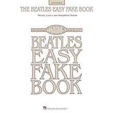 Hal Leonard The Beatles Easy Fake Book - 2nd Edition Easy Fake Book Series Softcover Performed by The Beatles