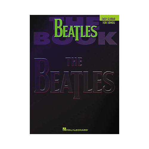 Hal Leonard The Beatles Easy Guitar Tab Book thumbnail