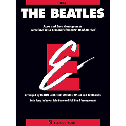Hal Leonard The Beatles Essential Elements Band Folios Series Softcover by The Beatles Arranged by Johnnie Vinson thumbnail