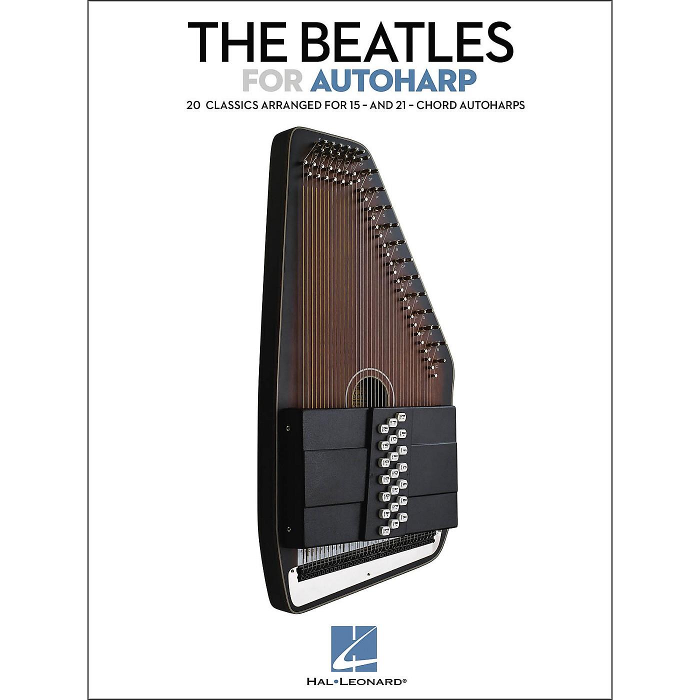 Hal Leonard The Beatles For Autoharp Songbook thumbnail