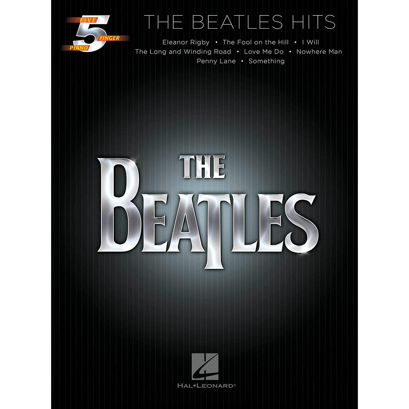 Hal Leonard The Beatles Hits For Five-Finger Piano thumbnail