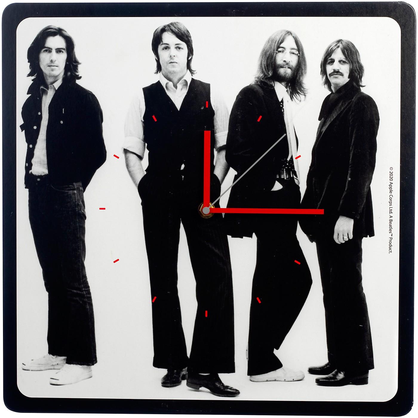 Vandor The Beatles Let It Be 13.5 Inch Square Wall Clock thumbnail
