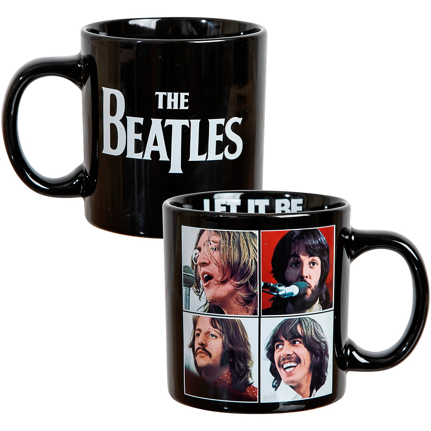 Vandor The Beatles Let It Be 16 oz. Ceramic Mug thumbnail