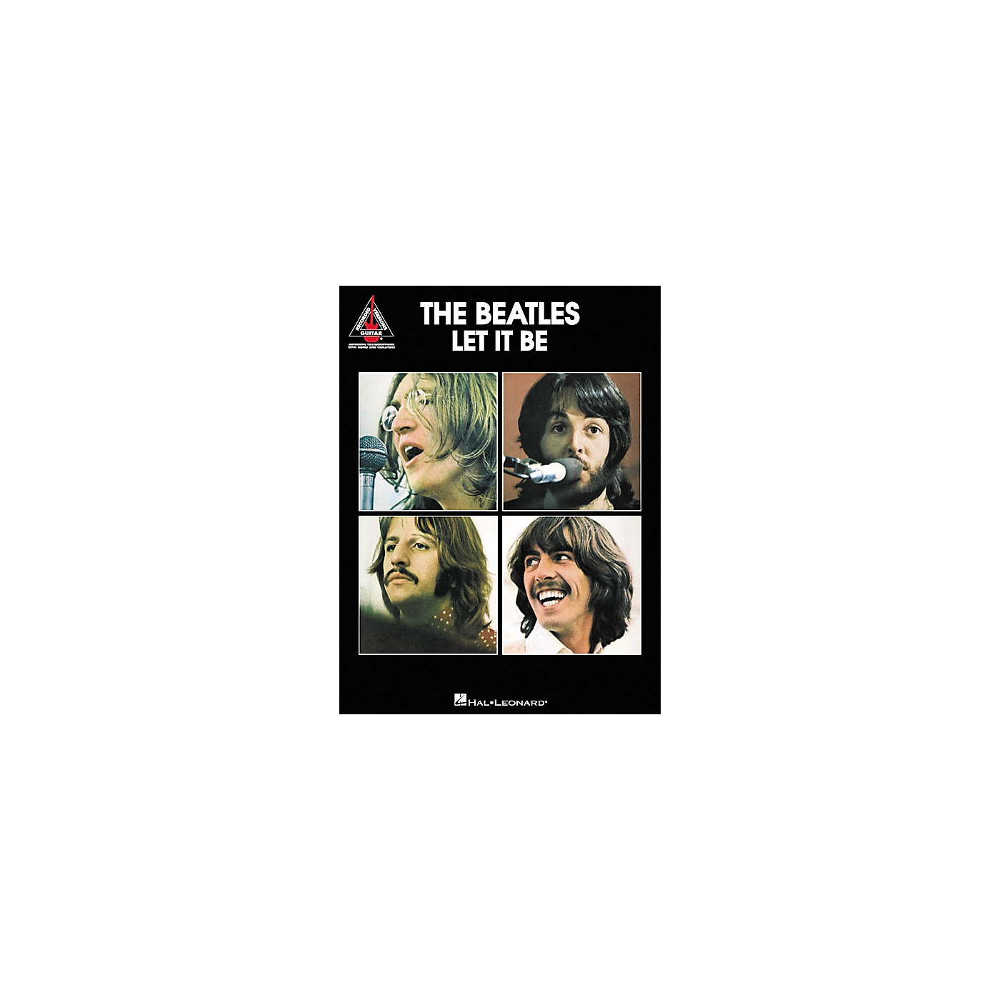 Hal Leonard The Beatles Let It Be Guitar Tab Songbook thumbnail