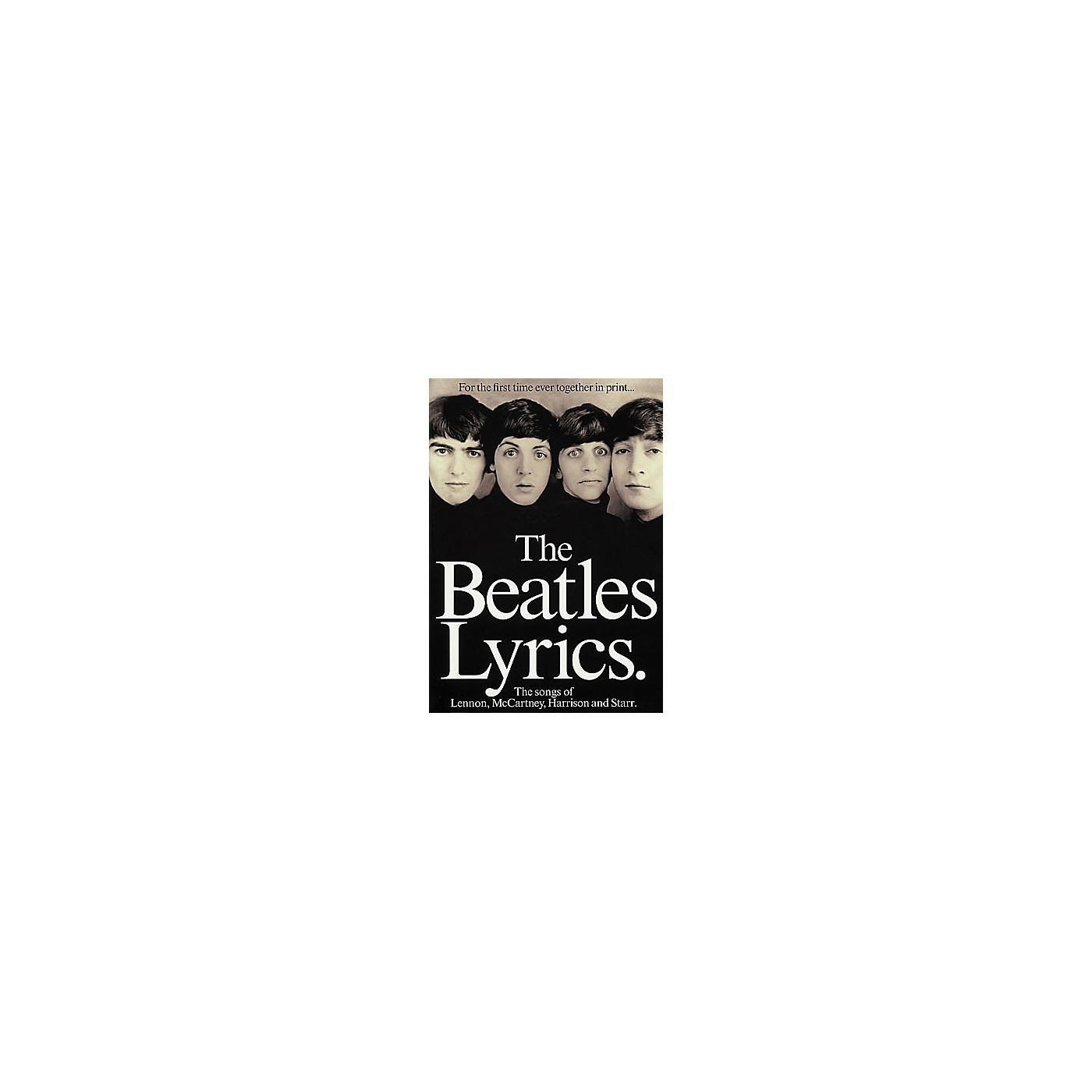 Hal Leonard The Beatles Lyrics thumbnail