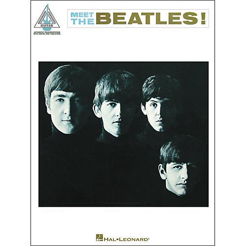 Hal Leonard The Beatles -Meet The Beatles Guitar Tab Songbook thumbnail
