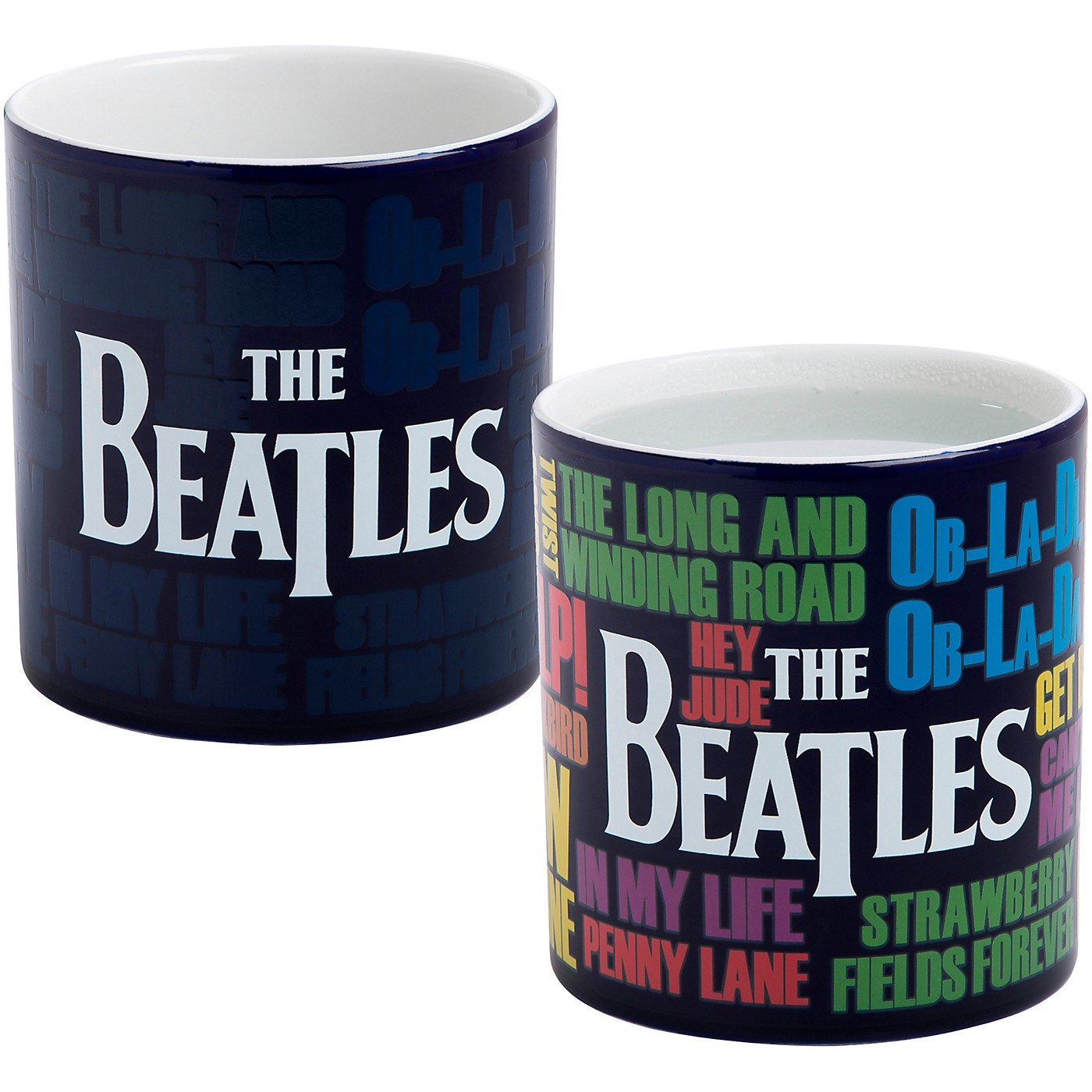 Vandor The Beatles Reactive 20 oz. Ceramic Mug thumbnail