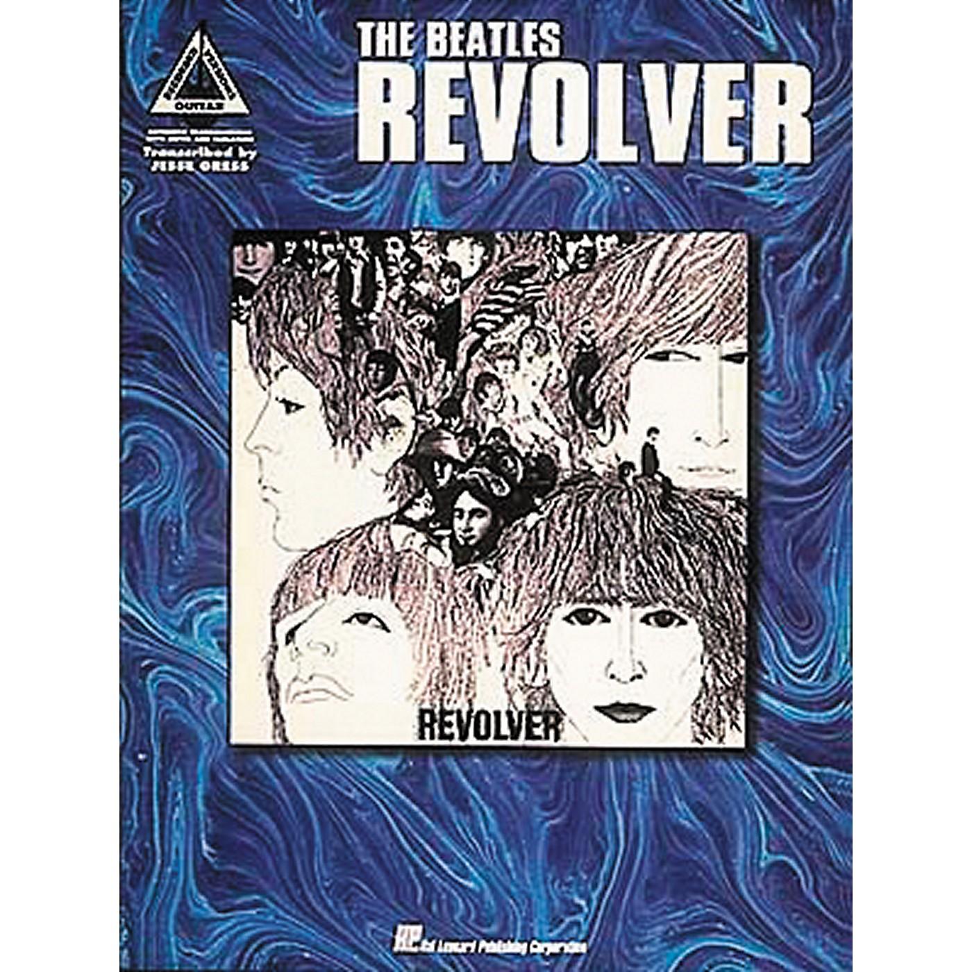 Hal Leonard The Beatles Revolver Guitar Tab Book thumbnail