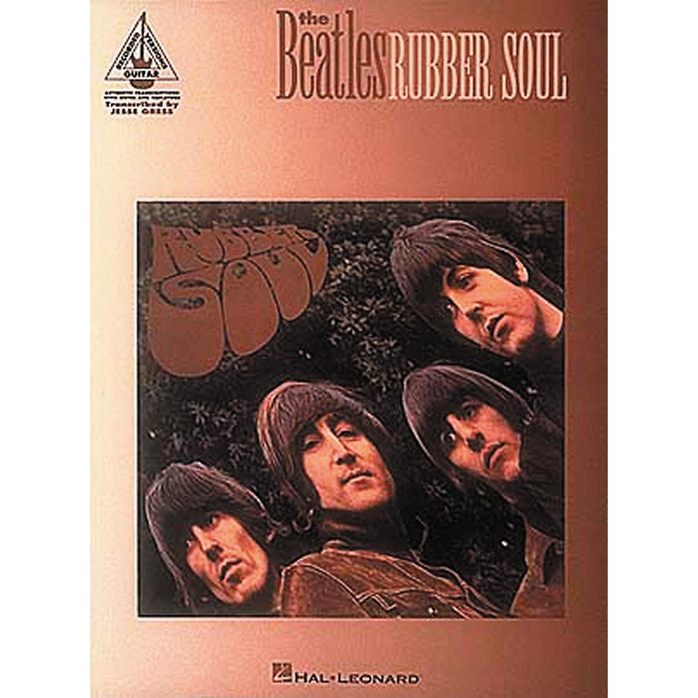 Hal Leonard The Beatles Rubber Soul Guitar Tab Book thumbnail