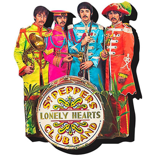 Hal Leonard The Beatles Sgt. Pepper  Chunky Magnet thumbnail