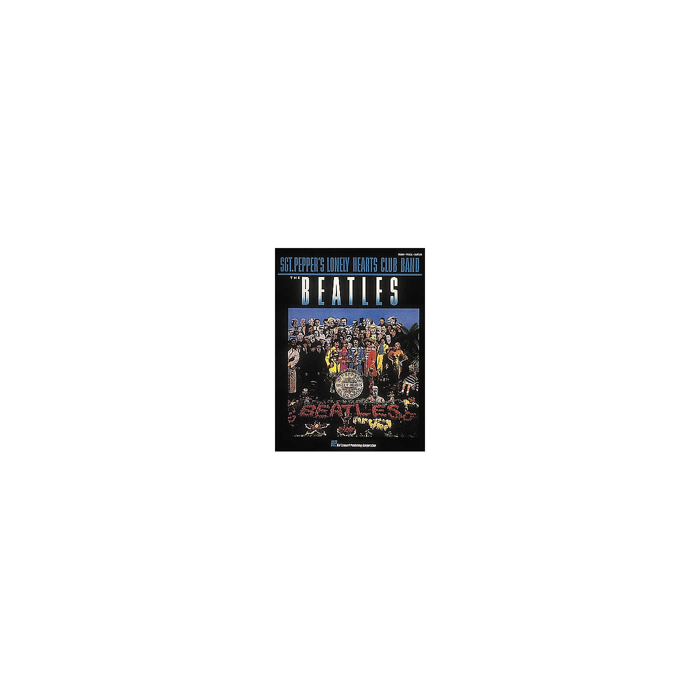 Hal Leonard The Beatles Sgt. Pepper's Lonely Hearts Club Band Piano, Vocal, Guitar Songbook thumbnail