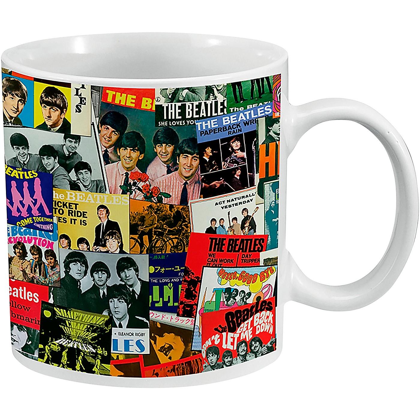 Vandor The Beatles Singles Collection 20 oz. Ceramic Mug thumbnail