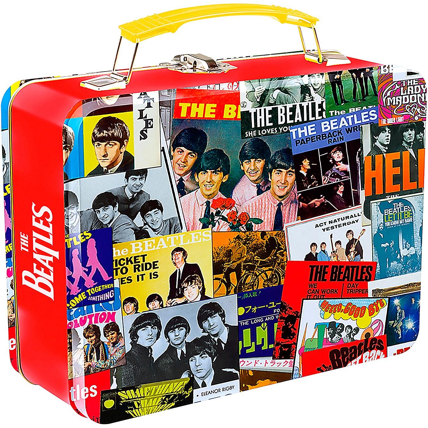 Vandor The Beatles Singles Collection Large Tin Tote thumbnail