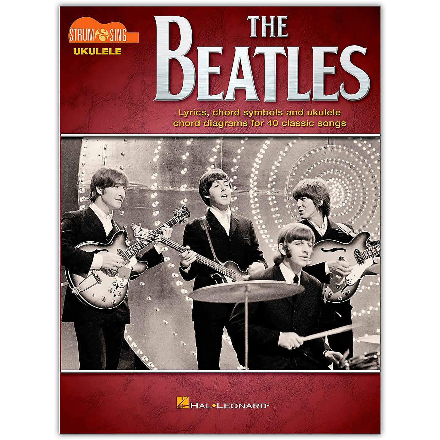 Hal Leonard The Beatles-Strum & Sing Ukulele thumbnail