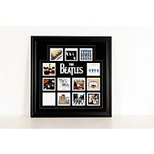 "Mounted Memories The Beatles ""U.K. Album Covers"" Framed Presentation"