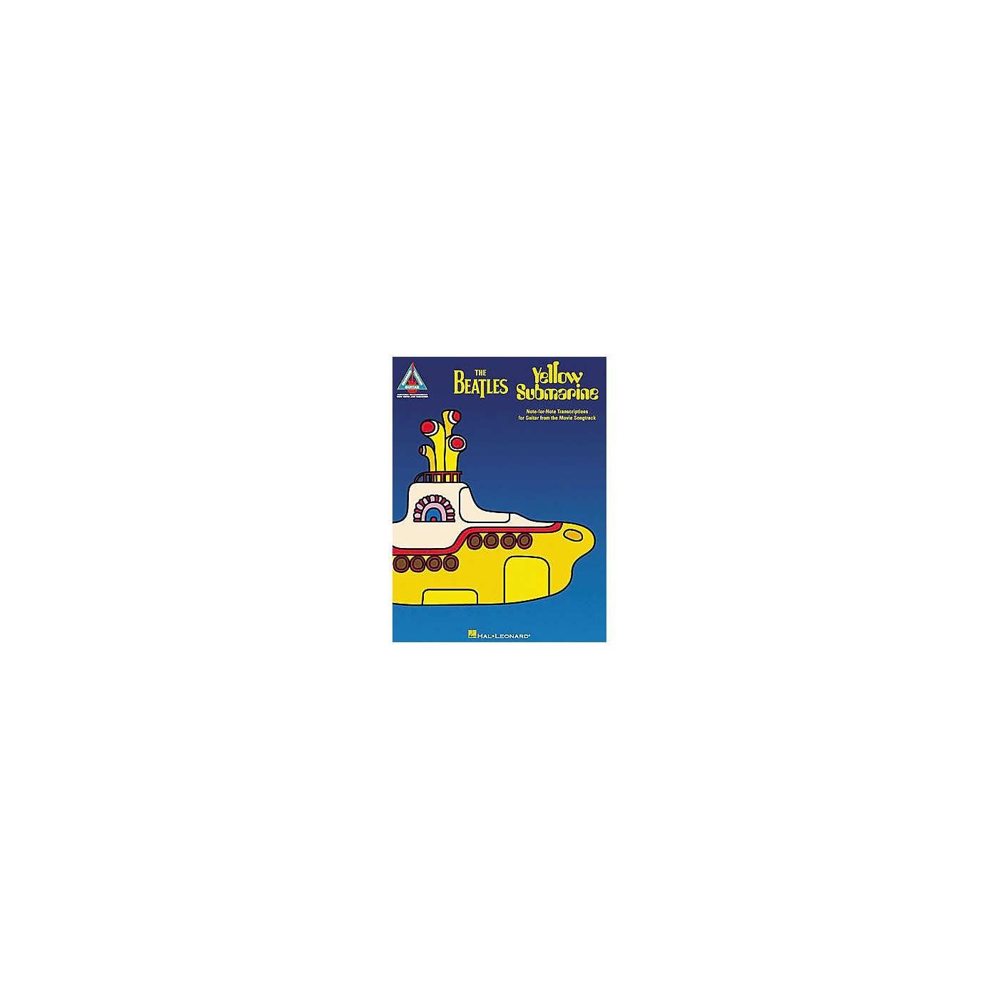 Hal Leonard The Beatles Yellow Submarine Guitar Tab Songbook thumbnail