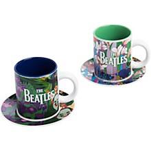 Vandor The Beatles Yellow Submarine Teacups & Saucers Set of 2 - Version 1