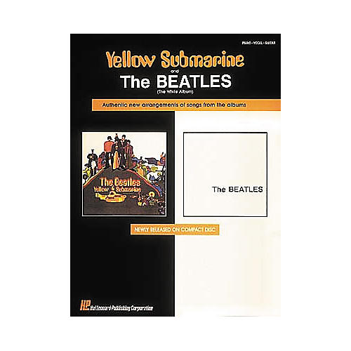 Hal Leonard The Beatles Yellow Submarine & The White Album