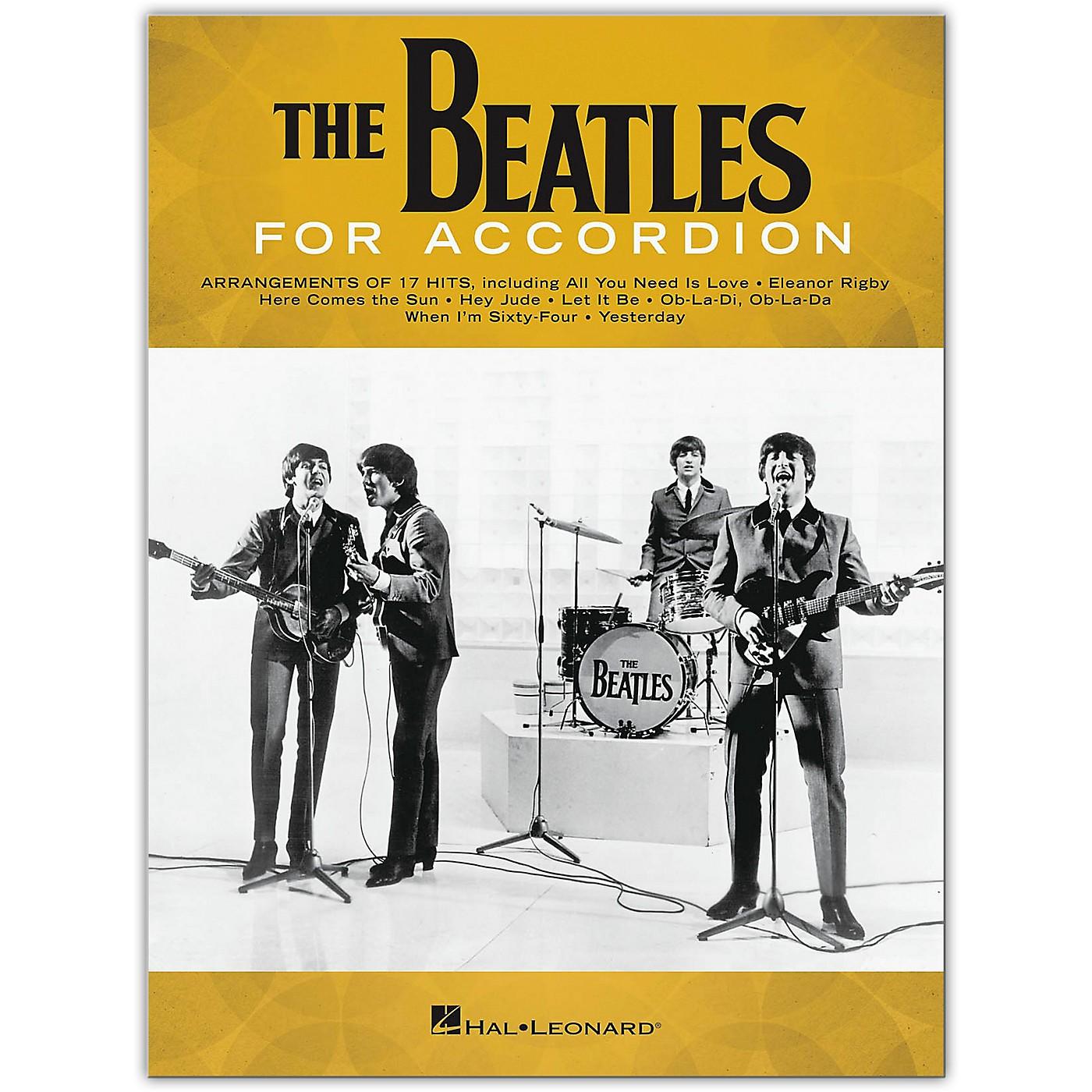 Hal Leonard The Beatles for Accordion thumbnail