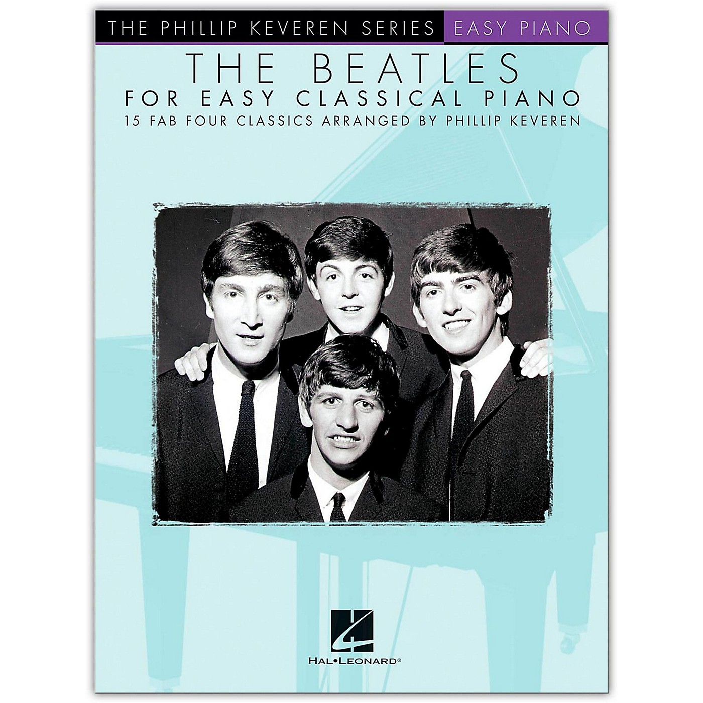 Hal Leonard The Beatles for Easy Classical Piano Phillip Keveren Series thumbnail
