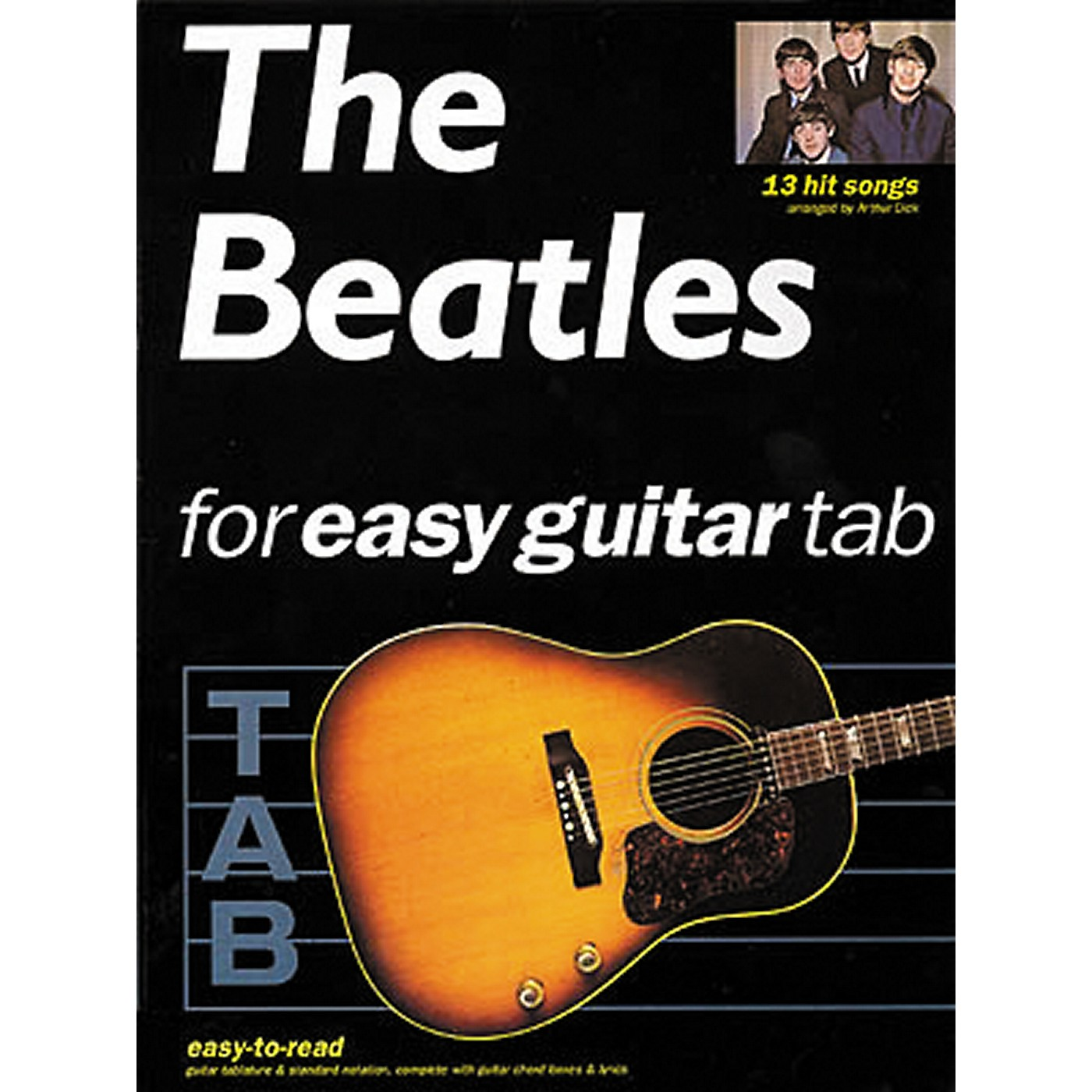 Hal Leonard The Beatles for Easy Guitar Tab Songbook thumbnail