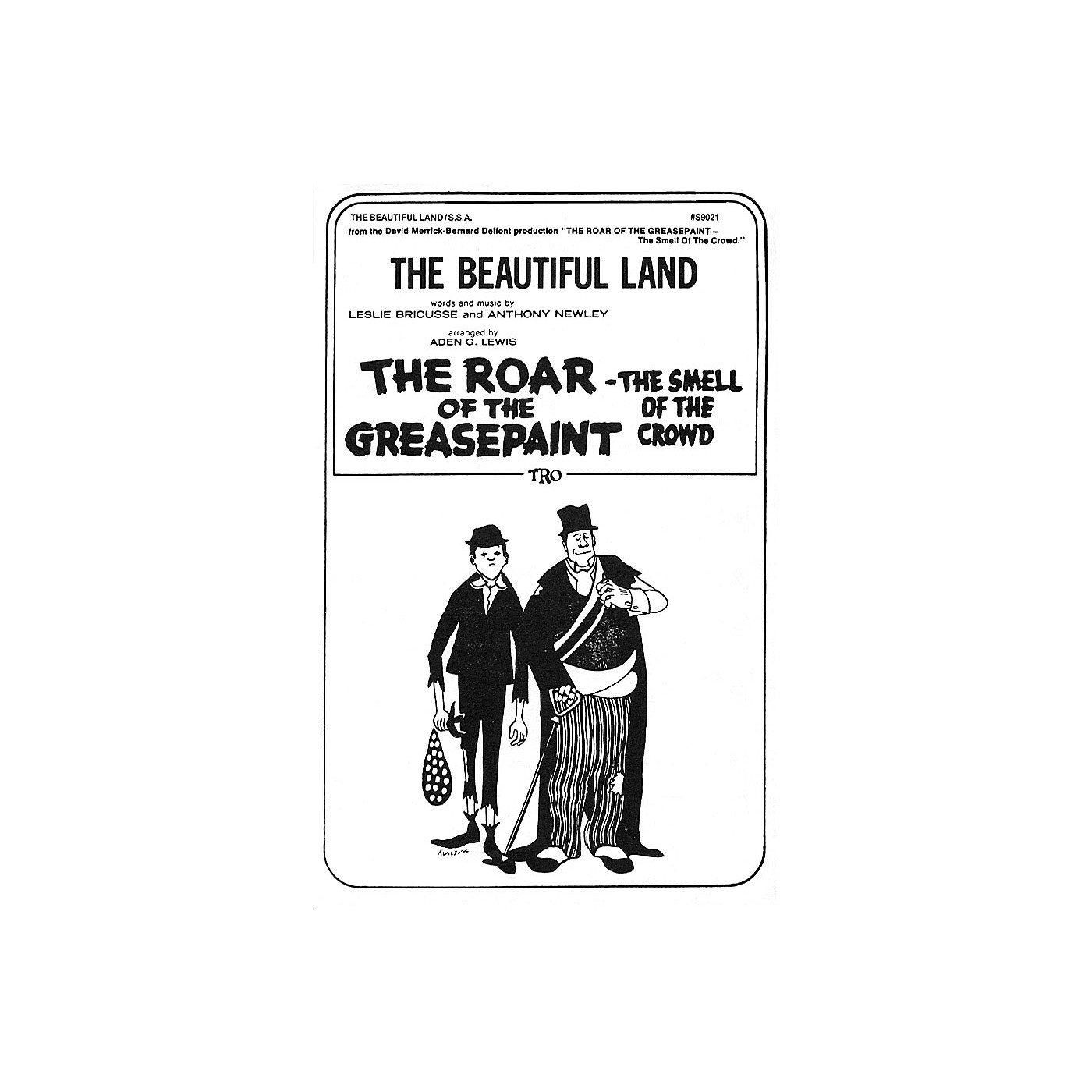 TRO ESSEX Music Group The Beautiful Land SSA Arranged by Aden G. Lewis thumbnail