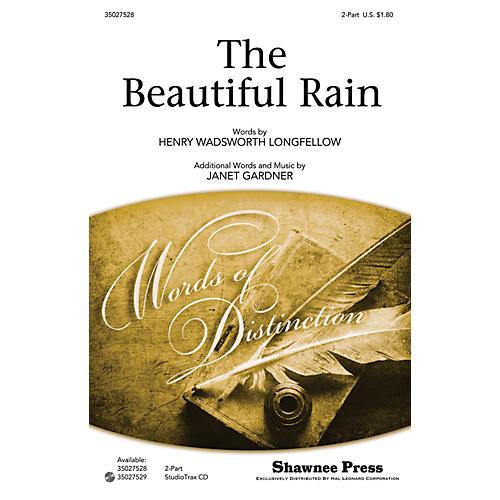 Shawnee Press The Beautiful Rain 2-PART composed by Janet Gardner thumbnail