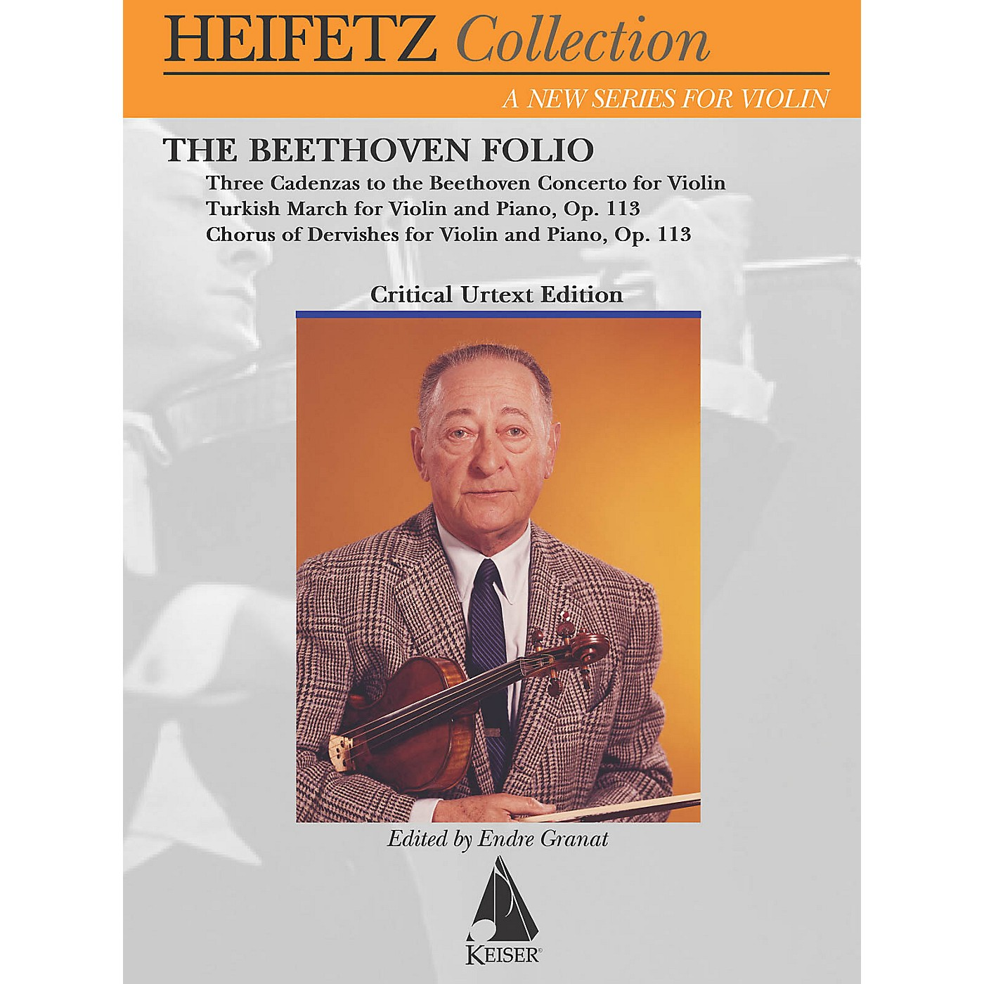 Lauren Keiser Music Publishing The Beethoven Folio (Critical Urtext Edition The Heifetz Collection) LKM Music Series Softcover thumbnail