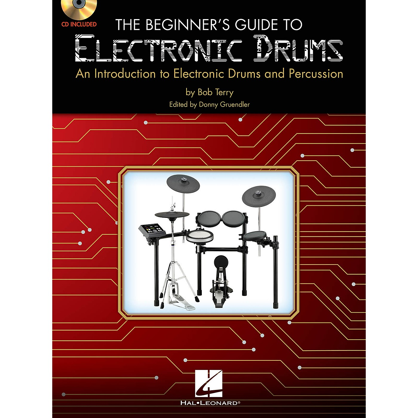 Hal Leonard The Beginner's Guide to Electronic Drums Book W/CD thumbnail