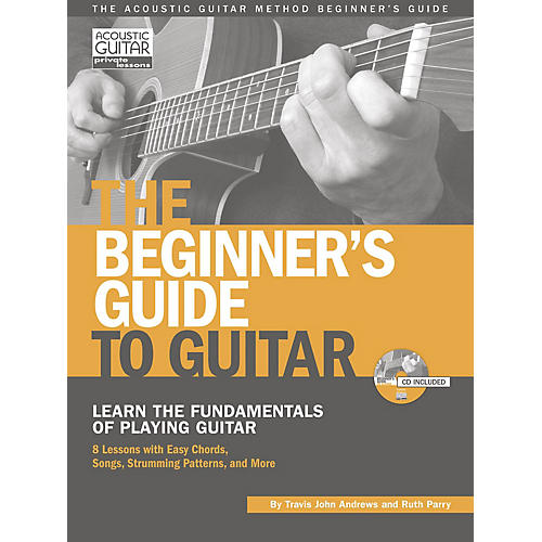 String Letter Publishing The Beginner's Guide to Guitar String Letter Publishing Series Softcover with CD by Travis Andrews thumbnail